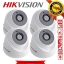 HIKVISION (( Camera Pack 4 )) DS-2CE56D0T-IT3 x 4 2MP DOME 1080P Turbo HD thumbnail 1
