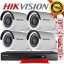 HIKVISION (( Camera set 4 )) DS-2CE16D0T-IR x 4 DS-7204HQHI-F1/N x 1 thumbnail 1