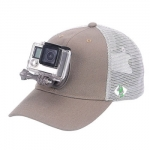 Smatree Baseball Hat For GoPro size M สีเทา