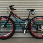 "จักรยานล้อโต Fatbike TRINX M516DC 26"" 27 สปีด ดิสน้ำมัน"