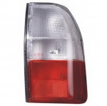 04-457 R/L Clear-Red Rear Combination Lamp, Clear-Red Lens