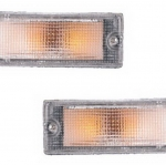 02-234 R/L Clear Front Direction Indicator Lamp, Clear Lens