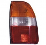 04-457 R/L Amber-Clear-Red Rear Combination Lamp, Amber-Clear-Red Lens
