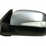 15-862 R/L Side View Mirror with LED indicator Chrome (Electric)