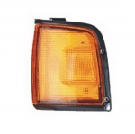 03-332 R/L Amber, Black Side Direction Indicator Lamp, Amber Lens, Black Housing