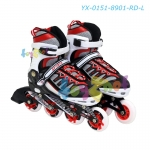 Inline Skates Red L-Sized (39-42) no. YX-0151-8901-RD-L
