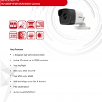 DS-2CE16D7T-IT1/IT3/IT5HD1080P WDR EXIR Bullet Camera 3.6mm.,6mm.8mm