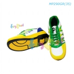 One-Wheel Roller Shoes (Green-Yellow) Size 35 no. MP290GR(35)