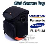 กระเป๋ากล้อง Mini Camera Bag XZ10 XZ1 XZ1 GM1 LX5 LX7 X10 X20 X100 GC100 GC200 (Olympus/Panasonic/Fuji/Samsung)