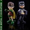 86hero Herocross Hybrid Metal Figuration #012 & #013 BATMAN & ROBIN 1966 TV Series NEW