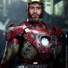 Hot Toys MMS 196 Iron Man Mark VII Battle Damaged Version The Avengers Exclusive Movie Promotion NEW