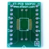 PCB CONVERT SSOP 20 PIN SMD to DIP