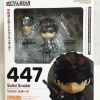 Nendoroid : No. 447 Solid Snake Metal Gear Solid Lot.Japan NEW
