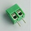 Screw terminal block 2 pin pitch 3.5 mm