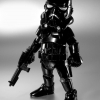 86hero Herocross Hybrid Metal Figuration #005s Star Wars Shadow Stormtrooper NEW