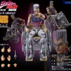 Medicos Super Action Statue JoJo's Bizarre Adventure Part 5 J.P.Polnareff NEW