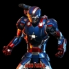 Hot Toys MMS195-D01 Patriot Iron Man 3 1/6 Scale collectible Figure Diecast NEW