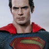 Hot Toys - MMS200 Superman Man of Steel Henry Cavill 1/6 Scale Collectible Figure NEW