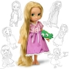 "Disney Animators Tangled Princess Rapunzel 16"" Gift Doll Collection NEW"