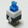 Push button-switch 30 Vdc/100mA