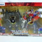 Transformers Revenge of the Fallen Jet Fire & Buster Optimus Prime Red-Pack TAKARA NEW