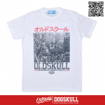 เสื้อยืด OLDSKULL EXPRESS: CITY TOWN | WHITE