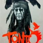 Hot Toys MMS217 Tonto Johnny Depp - The Lone Ranger 1/6 Scale NEW