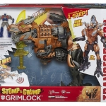 Transformers ทรานสฟอร์เมอร์ Age of Extinction Grimlock - Stomp & Chomp Big size NEW