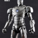 Hot Toys MMS78 IRON MAN MARK II NEW