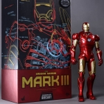 Hot Toys : MMS256D07 Iron Man Mark III Diecast Special Edition NEW