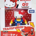 Choro-Q Hello Kitty X Q-Transformers TAKARA TOMY NEW