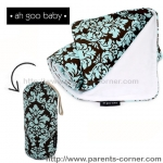 ผ้าห่มพกพา The Stroller Blanket Ah Goo Baby - Vintage in Blue