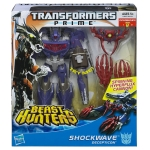 Transformers Prime Beast Hunters Voyager Class Shockwave Figure 6.5 Inches NEW