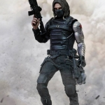Hot Toys MMS 241 The Winter Soldier - Captain America: The Winter Soldier NEW