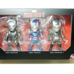 Kids Nation Iron Man 3 Series 2 - Iron Patriot, War Machine Mark I & II NEW
