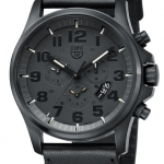 นาฬิกา Luminox รุ่น LUMINOX 1881.BO Men's Black Leather Swiss Quartz Watch with Black Dial
