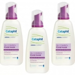 Cetaphil dermacontrol oil-control foam wash 235ml 3 ขวด