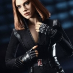 Hot Toys MMS239 Black Widow 1/6th scale Captain America: The Winter Soldier Collectible Figure NEW