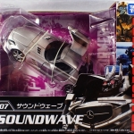 Transformers Movie 10th Anniversary MB-07 Soundwave Takara Tomy NEW