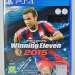 PS4 World Soccer Winning Eleven 2015 zone 3 NEW