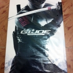 Hot Toys MMS192 G.I. Joe Retaliation: Snake Eyes Collectible Figure NEW