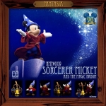 86hero Herocross Hybrid Metal Figuration #009 Sorcerer Mickey & the Magic Broom NEW