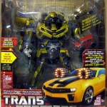 Transformers BumbleBee Leader Class Metallic Gold Costco Exclusive