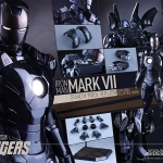 Hot Toys MMS282 IRON MAN Mark VII (Stealth Mode Version) NEW