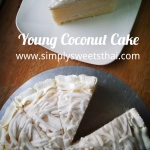 Young Coconut Cake