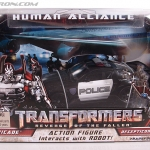 Transformers Revenge of the Fallen Human Alliance Barricade KO NEW