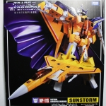 Transformers Masterpiece MP-11S Sunstorm Decepticon TAKARA TOMY NEW