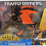 Transformers Prime Beast Hunters Beast Fire Predaking Ultimate Class NEW