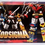 Bandai SOC GX-60 GOD SIGMA Soul of chogokin NEW