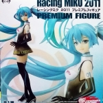 Racing Hatsune Miku 2011 Premium Figure Good Smile Racing SEGA PRIZE NEW